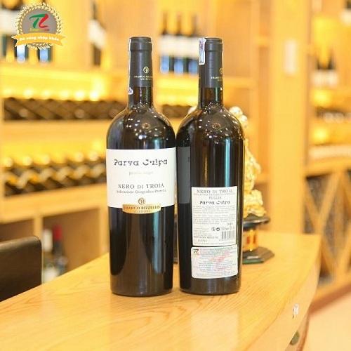 rượu vang Le Vigne di Sammarco Nero di Troia Parva Culpa Puglia 2014