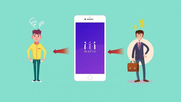 Mofin là ứng dụng cho vay ưu đãi không lãi suất duy nhất dành cho giới sinh viên, dưới hình thức kết nối giữa sinh viên cần tiền với người có tiền sẵn sàng giúp đỡ