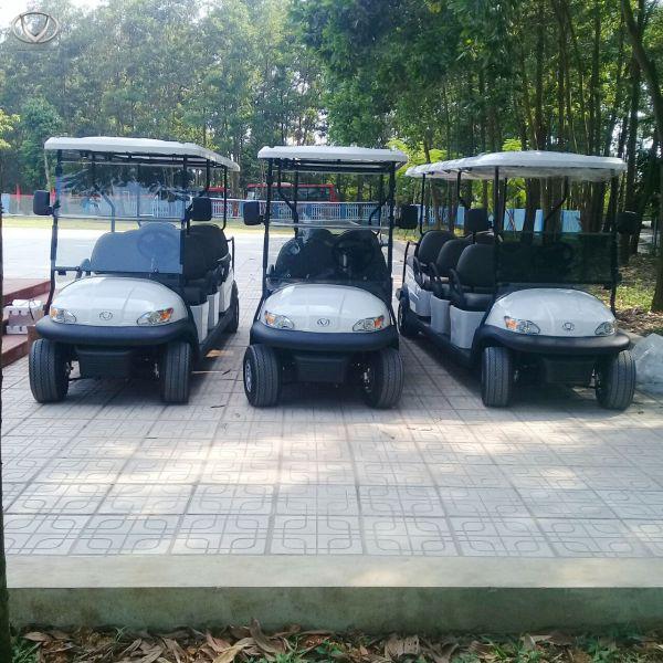 Trường phổ thông chất lượng cao Hùng Vương nhập 3 chiếc xe điện thương hiệu Việt