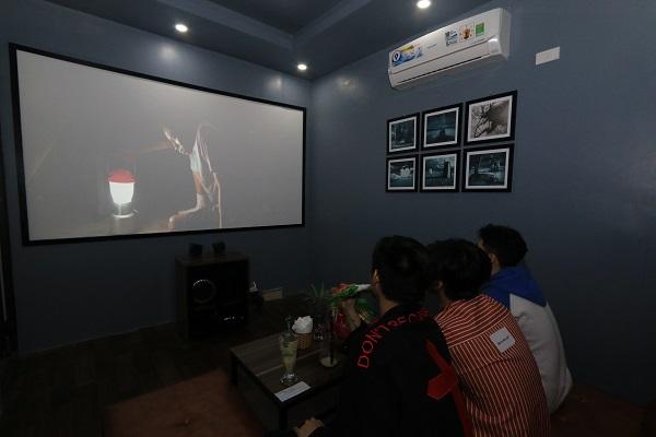 Phòng chiếu phim mini tại Cầu Giấy