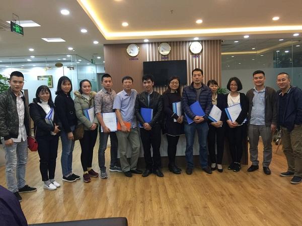 Khóa huấn luyện nghiệp vụ Quản lý kho bãi, tháng 3/2019 tại PMC Hà Nội