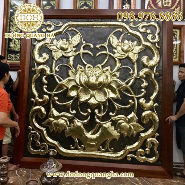Các mẫu phù điêu bằng đồng đẹp tinh xảo tại đồng Mỹ nghệ Quang Hà