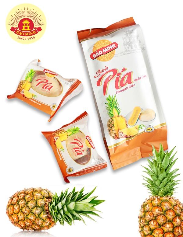 Các loại bánh pía hấp dẫn của Bảo Minh