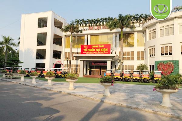 Xí nghiệp tập thể thương binh Quang Minh trao tặng 30 xe điện tại Thanh Hóa