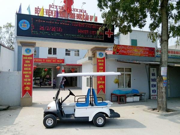 Xe điện bệnh viện nhận được nhiều phản hồi tích cực từ bệnh nhân sau khi sử dụng