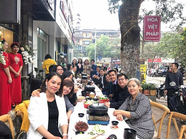 Chính thức khai trương cửa hàng Hoa Việt Pháp tại Trung Tự - Đống Đa