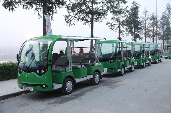 Xe điện VNE.CAR 08AC i10 góp phần bảo vệ môi trường