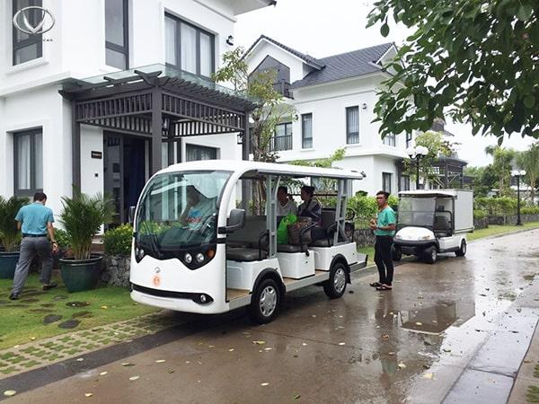 Ứng dụng linh hoạt của dòng xe điện chở hàng thùng kín VN Electric Car