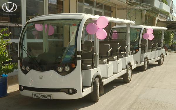 Ninh Thuận đầu tư xe điện du lịch phục vụ du khách tham quan