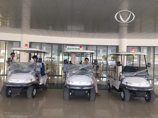 Đồng hành cùng cả nước chống dịch Covid-19, xe điện Tùng Lâm khẳng định thương hiệu tại nhiều bệnh viện lớn
