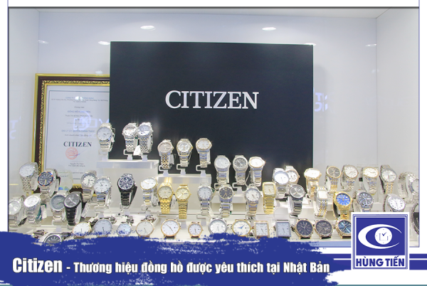 Đồng hồ Citizen tại Long Biên