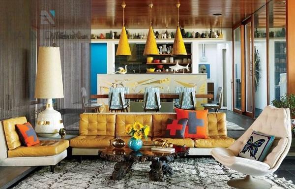 Đổi mới không gian với phong cách nội thất chiết trung độc đáo, sáng tạo
