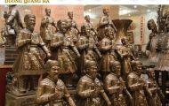 Những mẫu sản phẩm tượng đồng Trần Hưng Đạo đẹp hiện nay