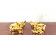 Quà tặng linh vật lợn mạ vàng - Món quà chào xuân Kỷ Hợi mang tài lộc, may mắn
