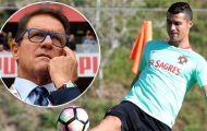 Capello: 'Ronaldo không đủ tầm vào nhóm ba thiên tài bóng đá'