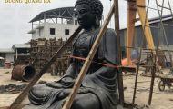 Địa chỉ đúc tượng Phật bằng đồng cỡ lớn đẹp