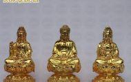 Thờ cúng tượng Phật bằng đồng cỡ nhỏ giúp tâm trí con người hướng về cái thiện
