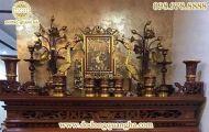Bộ đồ thờ bằng đồng trong văn hóa tâm linh của người Việt