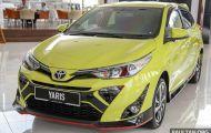Toyota Yaris 2019 màu xanh chuối, bản nâng cấp nhẹ nhàng về thiết kế