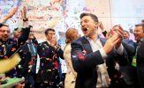 Diễn viên hài Zenlensky dành chiến thắng áp đảo trong cuộc bầu cử tổng thống Ukraine
