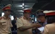 Trưởng tàu bị CSGT phát hiện có nồng độ cồn khi lên ban tường trình gì?