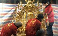 Tâm Phát thực hiện mạ vàng cho chùa tại Hà Nội góp phần làm đẹp thêm không gian