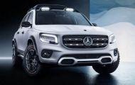 Mercedes-Benz chuẩn bị trình làng mẫu SUV 7 chỗ GLB