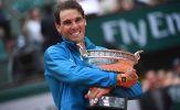 Tổng tiền thưởng của Roland Garros tăng lên 47,5 triệu USD