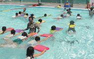 Vĩnh Long tổ chức dạy bơi miễn phí cho học sinh