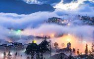 Vi vu giữa Sapa mờ sương với xe điện du lịch chất lượng cao