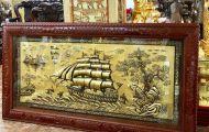 Lý do gì khiến tranh đồng Thuận buồm xuôi gió được nhiều người lựa chọn làm quà biếu tặng?