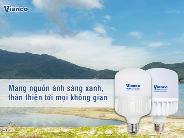 Bóng đèn led trụ Vianco