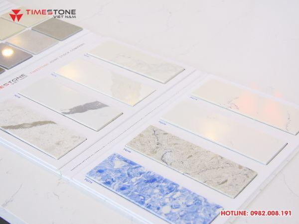 Đá nhân tạo gốc thạch anh là mẫu đá được lựa chọn nhiều nhất để làm bàn ăn đá nhân tạo