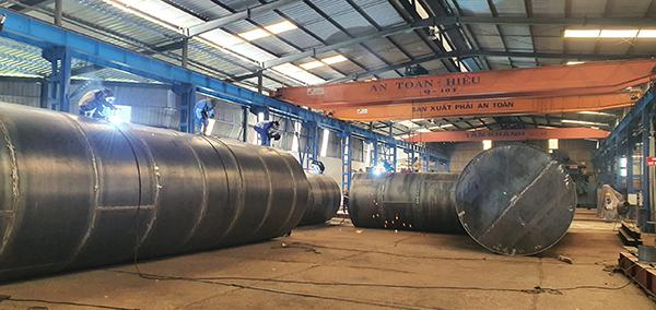 Nhà máy sản xuất bồn chứa xăng dầu Tân Khánh