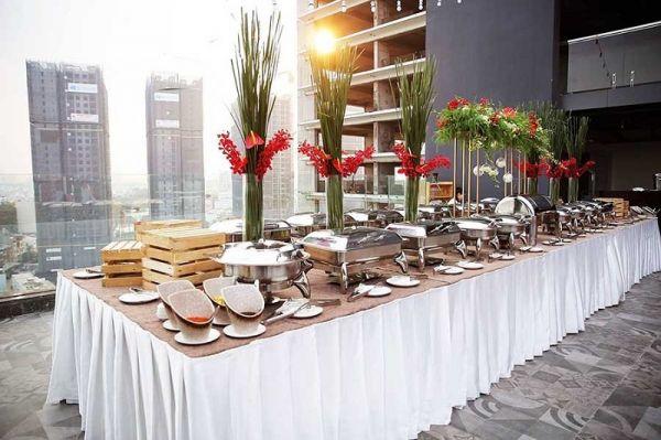 An Quý - Địa chỉ tổ chức tiệc buffet chuyên nghiệp tại Mê Linh