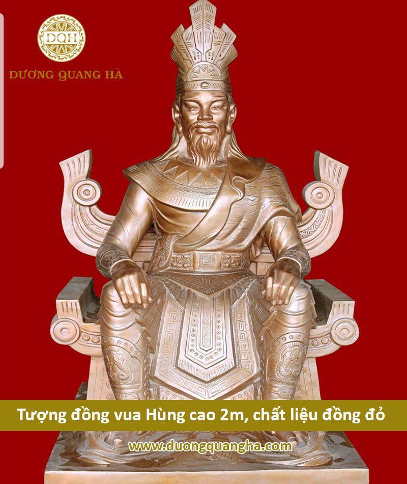 Tượng đồng vua Hùng