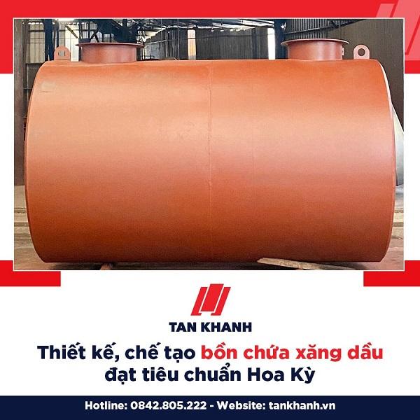 Giá bồn chứa xăng dầu 25m3